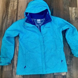 Columbia 2pc Interchange winter coat girl 18-20